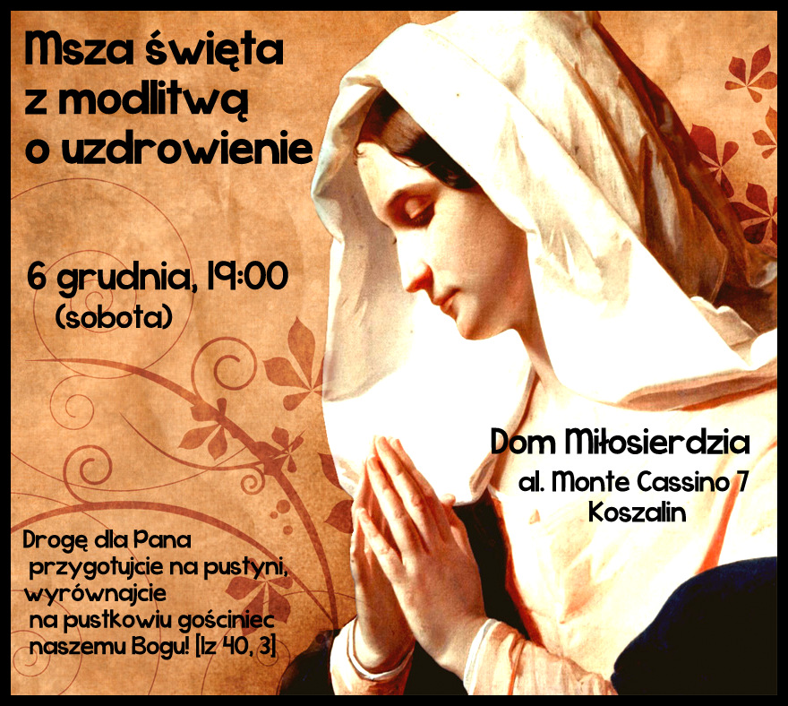 plakat modlitwa uzdr 6.12.2014