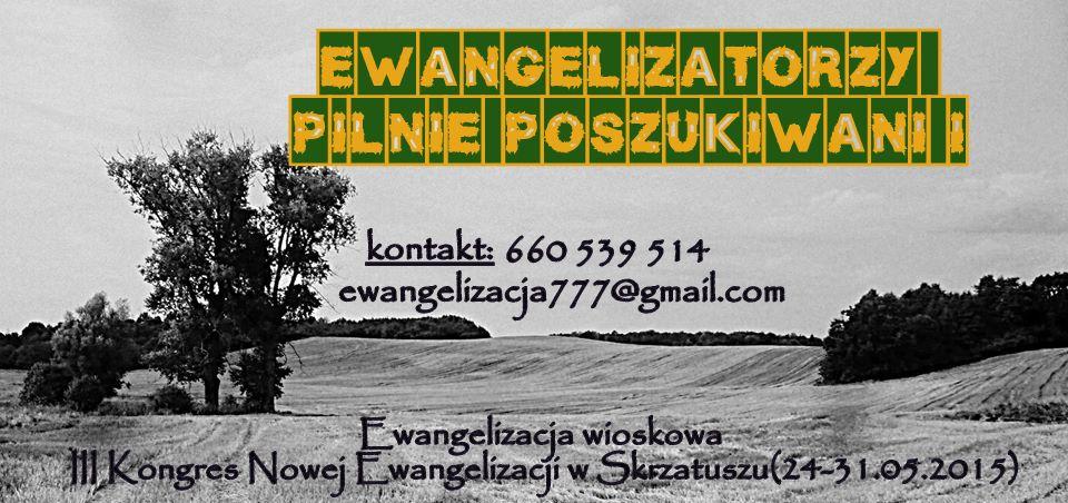 Ewangelizatorzy poszukiwani