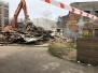 Wyburzenie ruin przy Domu